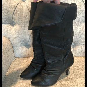 Urban Outfitters Passport Slouch Boots